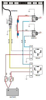 wiring delta skybar to spod jeepforum com anyways this is a diagram of how you would normally wire the skybar the spod seems to eliminate the need for almost all of this except the yellow wires