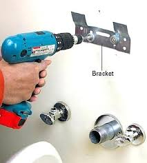 Pedestal Sink Wall Mount Bracket Installing A  How To Install L61