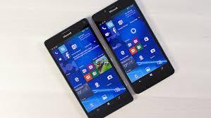 microsoft lumia 950. lumia 950 vs xl microsoft