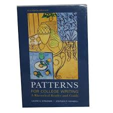 Patterns For College Writing New 48 Patterns For College Writing A Rhetorical Reader And