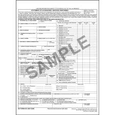 dd form 1840 household goods form statement of accessorial services for non