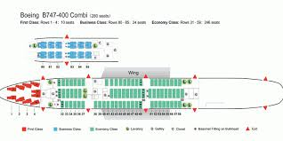 Boeing 747 8 Intercontinental Seating Chart Air China Airlines Boeing 747 400 Combi Aircraft Seating