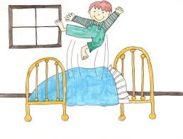 kids bed clip art. Contemporary Art Jumping On Bed Throughout Kids Clip Art H