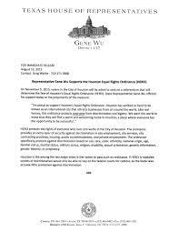 Latest News Gene Wu State Representative District 137