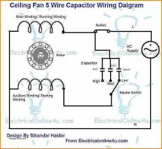 7 ceiling fan wiring diagram with capacitor fan wiring ceiling fan wiring diagram 2 switches at Ceiling Fan Wiring Diagram