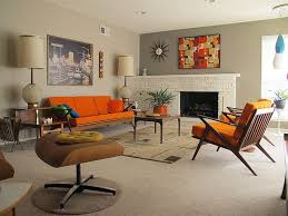 Retro Modern Living Room Remodelling
