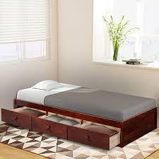 Twin Beds with Storage: Amazon.com