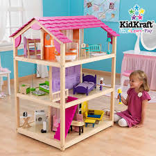cheap doll houses with furniture. KidKraft® - So Chic Dollhouse Cheap Doll Houses With Furniture