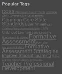 Using Tag Clouds To Implement Formative Assessment