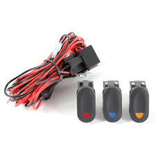 rugged ridge 15210 73 light installation wiring harness 3 lights light installation wiring harness kit 3 lights hover to zoom