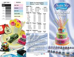 Satin Ice Colour Mixing Chart