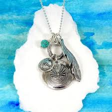 silver man in the maze necklace