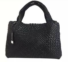 details about falor firenze woven leather f7349 made in italy large tote shoulder bag new