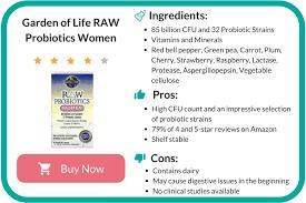 garden of life raw probiotics women review