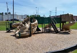 composite playground structure
