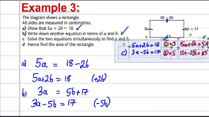 gcse maths revision solving simultaneous equations in context 2 you