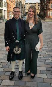 """Gordon Maloney #BLM on Twitter: """"here's what me and my girlfriend wore to a  wedding earlier last year - bet this guy would lose his shit 😅…  https://t.co/xh4GnlhZT8"""""""