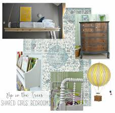 Shared Girls Bedroom Up In The Trees Shared Girls Bedroom One Room Challenge Week 6
