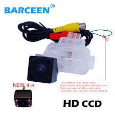 popular reverse light wiring buy cheap reverse light wiring lots origianl car rear reversing camera bring 4 ir lights auto wire glass lens material adapt for