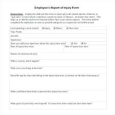 Sample Employee Statement Form Free Documents In Word Disciplinary ...
