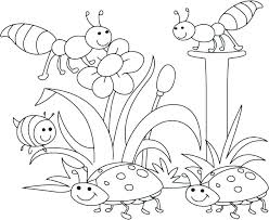 Springtime Coloring Pages Free Preschool Coloring Pages Spring