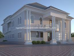 nigeria house plan home building design 5 bedroom apartment