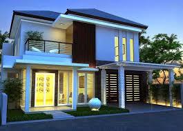 Modern Minimalist Exterior Home Design 2016