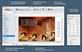 card maker template business card composer advanced business card maker for mac