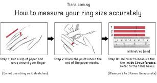 Italian Ring Size Chart Ring Size Chart International Ring Size Guide On How To