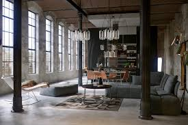 Industrial Living Room Converted Industrial Spaces Becomes Gorgeous Apartments