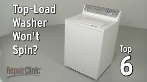 Fix My Washer Top Load Washer Wont Spin Washing Machine Troubleshooting Youtube