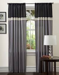 wondrous color block curtains creative ways to extend the length of your curtain panels add 96 inch 108 diy target in red and white with grommets panels