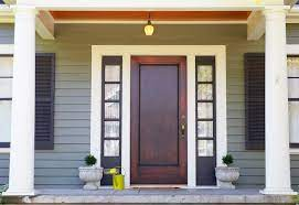 replace your wood front door for