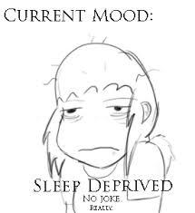 Image result for sleep deprived
