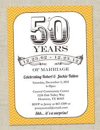 50th wedding anniversary invitation templates wording