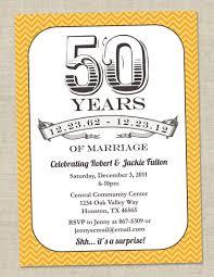 50th wedding anniversary invitation templates wording