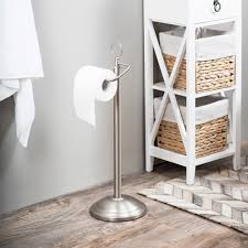 Amg Free Standing Toilet Paper Holder Reviews Wayfair