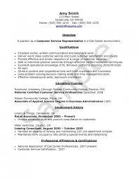 Call Center Rep Resume Call Center Representative Resume Call Call Center  Skills Resume ...