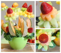 Eat Spin Run Repeat Fruit Bouquet 1