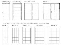 Standard Window Size Chart Entermed Info