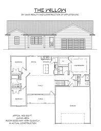 1900 sq foot ranch house plans 2100 ft country floor home incredible ft