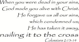 Image result for image  colossians 2:13