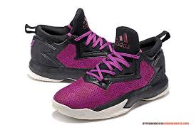adidas basketball shoes damian lillard. bright color of damian lillard | adidas d 2 black grape white basketball shoes