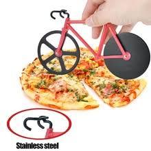1PC <b>Bike</b> Round <b>Pizza Cutter Knives</b> Stainless Steel Pizza <b>Knife</b> ...
