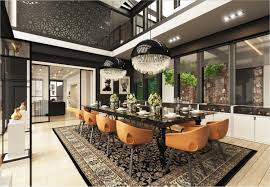 ultra modern interior design. Dining Rooms That Mix Classic And Ultra Modern Decor Interior Design C