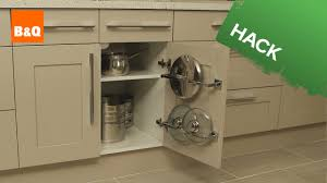 B And Q Kitchen Appliances Kitchen Storage Solutions Clear Your Cupboard Clutter Youtube