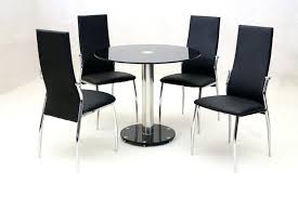 Round glass tables and chairs Hamptons Style Medium Size Of Glass Table Chair Cushions Small And Chairs Argos Dining Kitchen Set Black Tomtec Glass Table And Chairs Round Ebay Top Chair Set Argos Modern Dining