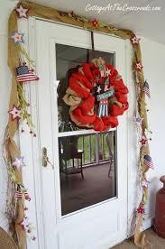patriotic wreaths for front door18 Easy 4th of July Wreaths to Make for Your Front Door