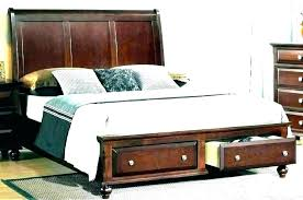 Extra Long Twin Platform Bed Size Frame With Storage Build ...