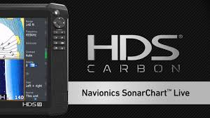 Hds Carbon Using Navionics Sonarchart Live